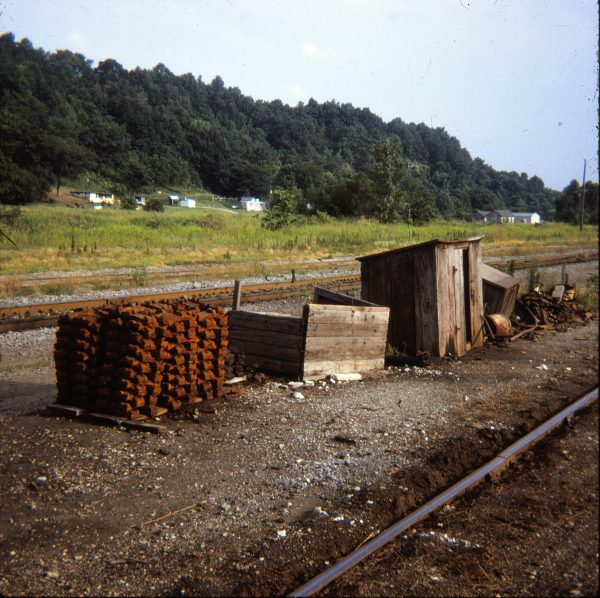 Rip Track at Chaffee, Missouri in 1971 (Ken McElreath)