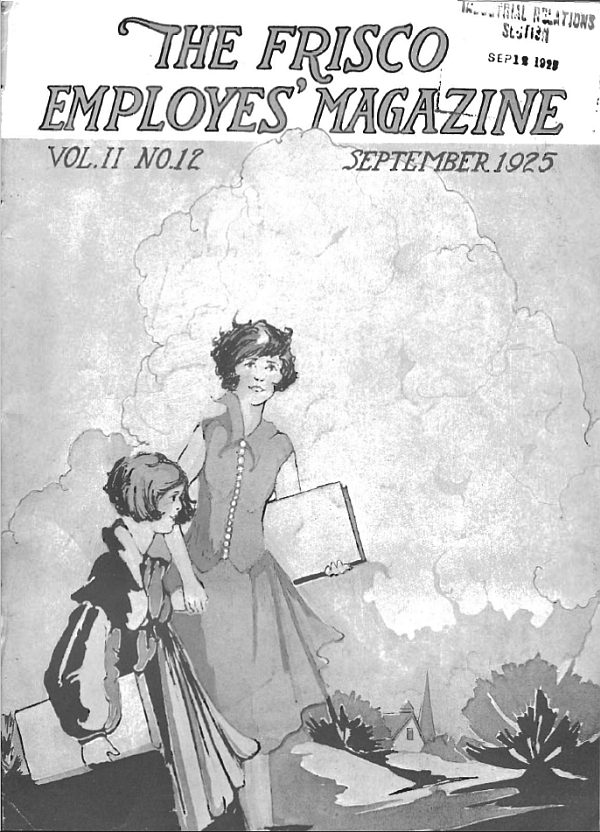 Frisco Employes' Magazine - September 1925