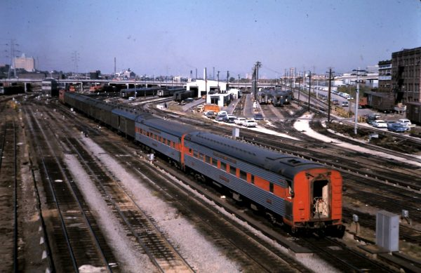 Frisco Passenger Cars at St. Louis, Missouri (date unknown)