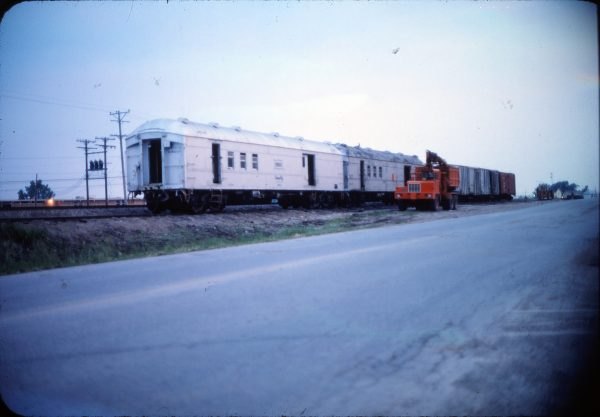 Work Car 105644 (location unknown) in June 1976
