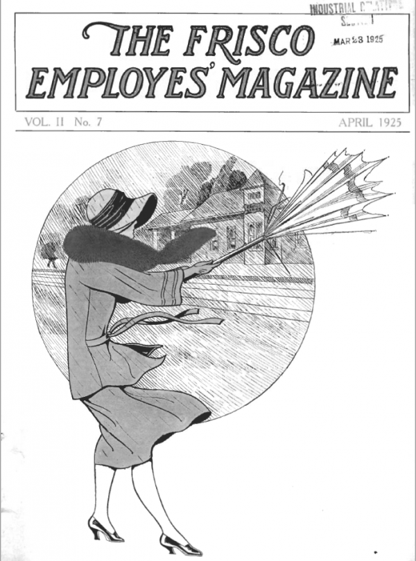 Frisco Employes' Magazine - April 1925
