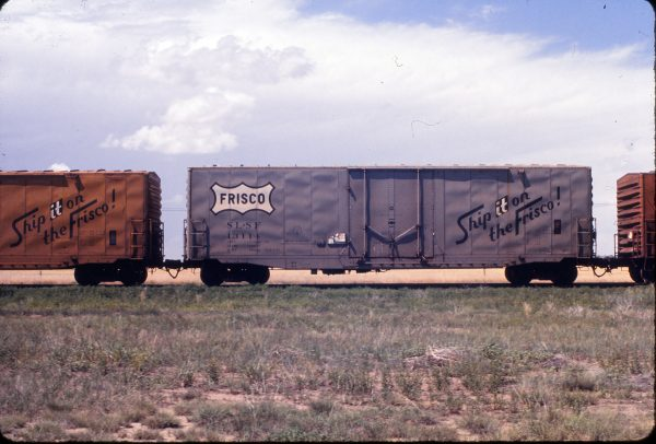 Boxcar 13114 at Flagler, Colorado in June 1972