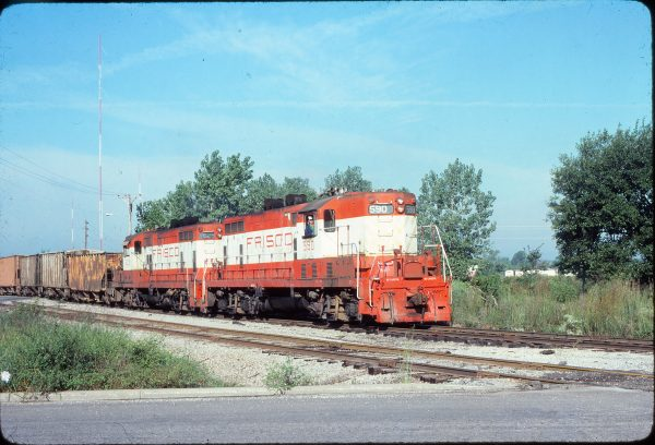GP7s 590 and 629 (location unknown) in September 1979