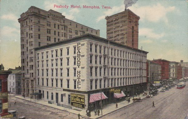 Peabody Hotel - Memphis, Tennessee (Postcard)